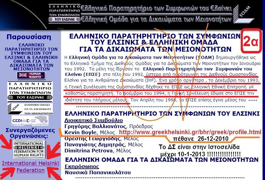 ΕΛΣΙΝΚΙ -ΕΛΛΗΝΙΚΟ ΠΑΡΑΤΗΡΗΤΗΡΙΟ 2α