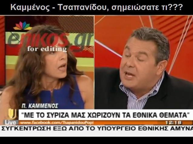 ΚΑΜΜΕΝΟΣ -ΤΣΑΠΠΑΝΙΔΟΥ -ΨΕΥΔΟΣ