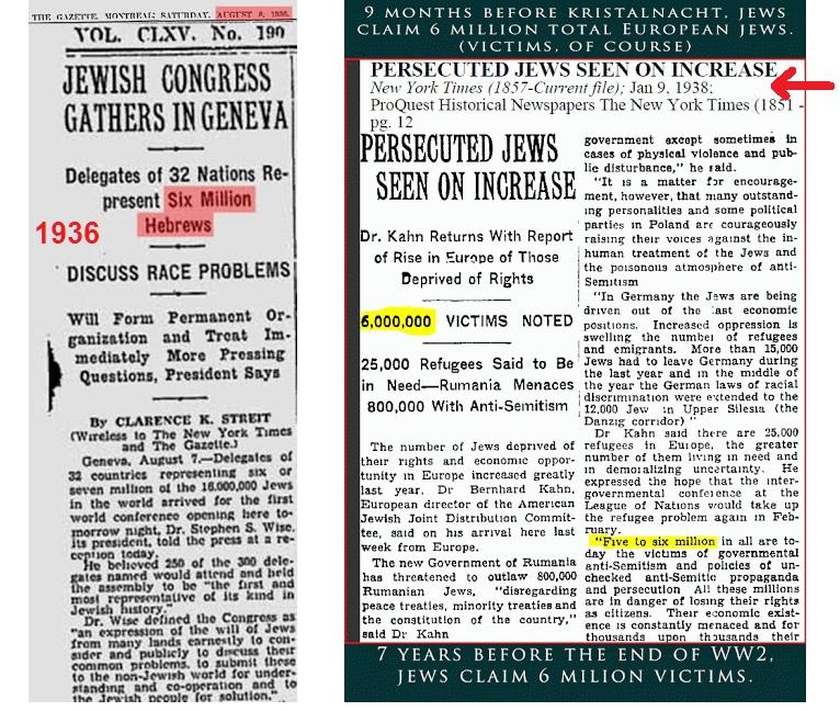 ΟΛΟΚΑΥΤΩΜΑ 1936 kai 1938