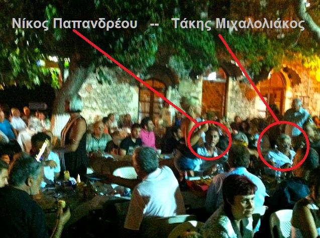 ΠΑΠΑΝΔΡΕΟΥ -ΜΙΧΑΛΟΛΙΑΚΟΣ -ΠΑΝΗΓΥΡΙ