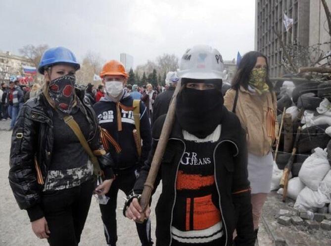 Ρωσίδες-γυναίκες του Ντόνετσκ