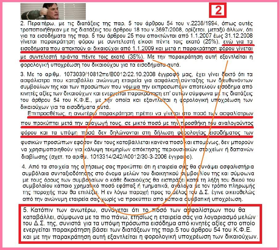 ΦΟΡΟΛΟΓΗΣΗ ΑΣΦΑΛΙΣΤΡΩΝ  ΣΤΕΛΕΧΩΝ ΑΣΦ ΕΤ -ΤΣΟΥΚΑΛΑΣ ΕΦΑΠΑΞ Α2