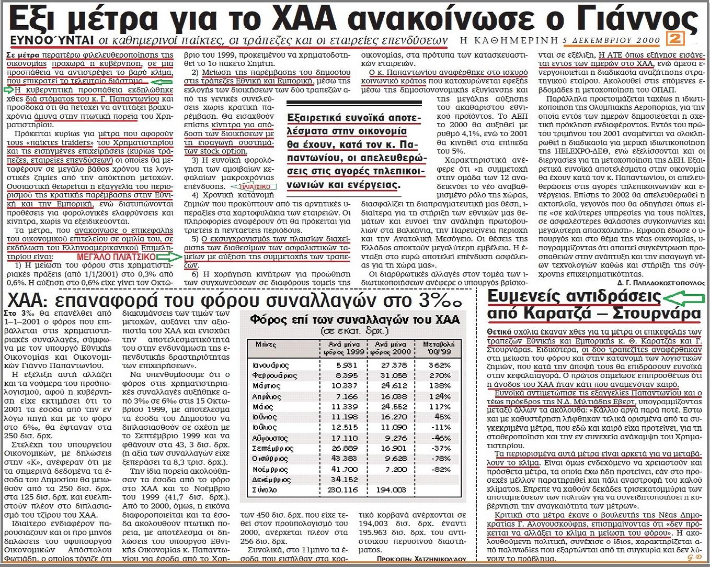 ΦΟΥΣΚΑ ΧΡΗΜΑΤΙΣΤΗΡΙΟΥ 3 -ΤΡΑΠΕΖΕΣ