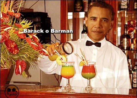 BARACK O BARMAN