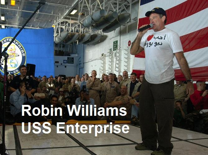 Robin Williams USS Enterprise
